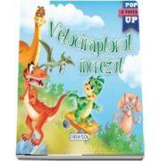 Velociraptorul increzut. O poveste Pop Up