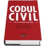Codul civil. Editia a VIII-a. Actualizata la 9 august 2020