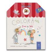 Coloram cu Ema si Eric: Carte de colorat