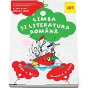 Limba si literatura romana. Manual pentru clasa a IV-a, semestrul II