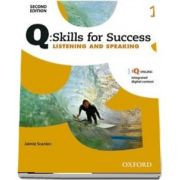 Q Skills for Success Level 1. Listening and Speaking Student Book with iQ Online