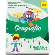 Geografie. Manual pentru clasa a IV-a, semestrul I de Carmen Camelia Radulescu, Ionut Popa