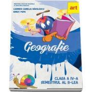 Geografie. Manual pentru clasa a IV-a, semestrul II de Carmen Camelia Radulescu, Ionut Popa