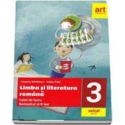 Limba si literatura romana. Caiet de lucru pentru clasa a III-a, semestrul II