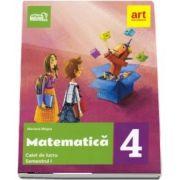 Matematica. Caiet de lucru pentru clasa a IV-a, semestrul I