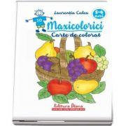 Maxicolorici. Carte De Colorat 5-6 ani