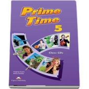 Virginia Evans, Prime Time 5, class audio CD (set of 8)