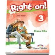 Right On! 3. Set of 3 Class CDs