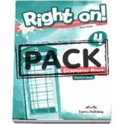Virginia Evans, Right On! 4. Grammar Book Teachers with Digibooks App