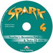 Spark 4 Monstertrackers. Teachers Resource Pack and Tests CD-ROM (Jenny Dooley)