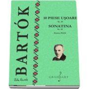 10 piese usoare Sz. 39, Sonatina Sz. 55. Pentru pian (Bela Bartok)