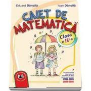 Caiet de matematica. Clasa a IV-a