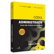 Codul administrativ octombrie 2020. Editie tiparita pe hartie alba (Verginia VEDINAS)