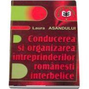 Conducerea si organizarea intreprinderilor romanesti interbelice