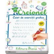 Creionel, caiet de exercitii grafice 4-5 ani