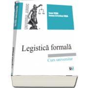 Legistica formala. Curs universitar