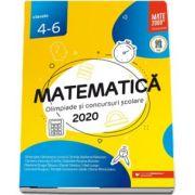 Matematica. Olimpiade si concursuri scolare 2020, pentru clasele 4-6