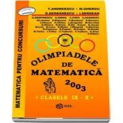 Olimpiade de matematica 2003, pentru clasele IX-X