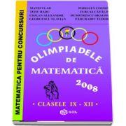 Olimpiade de matematica clasele IX-XII - 2008