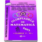 Olimpiade de matematica 2003, clasele V-VI