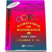 Olimpiade de matematica 2000 - 2001, pentru clasele V-X