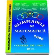 Olimpiade de matematica 2008, clasele VII-VIII
