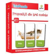 TrioPuzzle. Propozitii din trei cuvinte