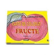 Carte de colorat - Fructe