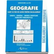 Geografie. Caiet cu fise de lucru pentru bacalaureat
