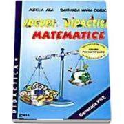 Jocuri didactice matematice, indrumator metodic