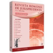 Revista romana de jurisprudenta nr. 3/2020