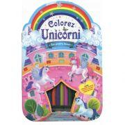 Colorez unicorni. Set pentru desen