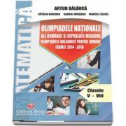 Olimpiadele Nationale ale Romaniei si Republicii Moldova. Olimpiadele Balcanice pentru juniori (OBMJ) 2014 - 2018