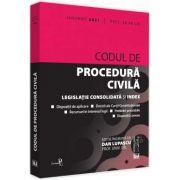 Codul de procedura civila: IANUARIE 2021 (Dan LUPASCU)
