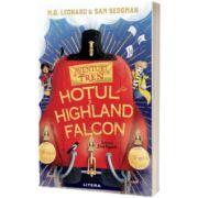 Aventuri in tren. Hotul din Highland Falcon, M. G. Leonard, Litera