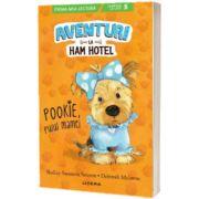 Aventuri la Ham Hotel. Pookie, puiul mamei, Shelley Swanson Sateren, Litera
