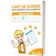 Caiet de scriere pentru gradinita si clasa pregatitoare, matematica, Diana