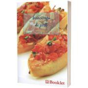 Mancaruri de post, Elena Popescu, Booklet