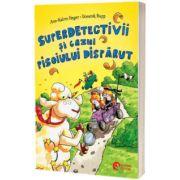 Superdetectivii si cazul pisoiului disparut, Ann Katrin Heger, Booklet