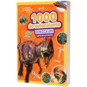 1000 de autocolante. Dinozauri. Carte de activitati