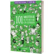 101 motive sa te bucuri ca citesti
