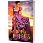 Ce isi doreste un duce, Jeffries Sabrina, Alma
