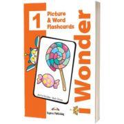 Curs de limba engleza iWonder 1 Picture si Word Flashcards, Jenny Dooley, Express Publishing