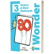Curs de limba engleza iWonder 3 Picture si Word Flashcards, Jenny Dooley, Express Publishing