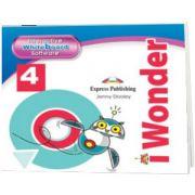 Curs de limba engleza iWonder 4 Soft pentru tabla interactiva, Jenny Dooley, Express Publishing