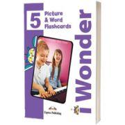 Curs de limba engleza iWonder 5 Picture si Word Flashcards, Jenny Dooley, Express Publishing