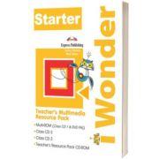 Curs de limba engleza iWonder Starter Material Multimedia pentru Profesori set 4 CD, Jenny Dooley, Express Publishing