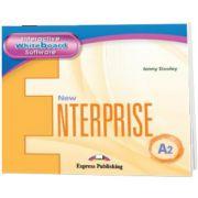 Curs de limba engleza New Enterprise A2 IWB, Jenny Dooley Express Publishing