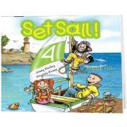Curs de limba engleza Set Sail 4 Audio CD pentru elev