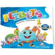 Curs de limba engleza The Flibets 1 audio CD manual (Set de 2 CD-uri), Jenny Dooley, Express Publishing